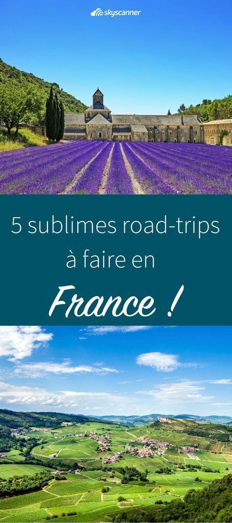5 itinéraires à faire en France pour un road-trip !   Envie de vous évader qu…