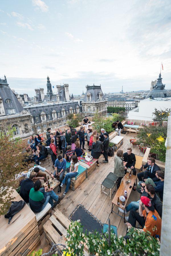 Le Perchoir du BHV, 37 rue de la Verrerie – Paris 4ième