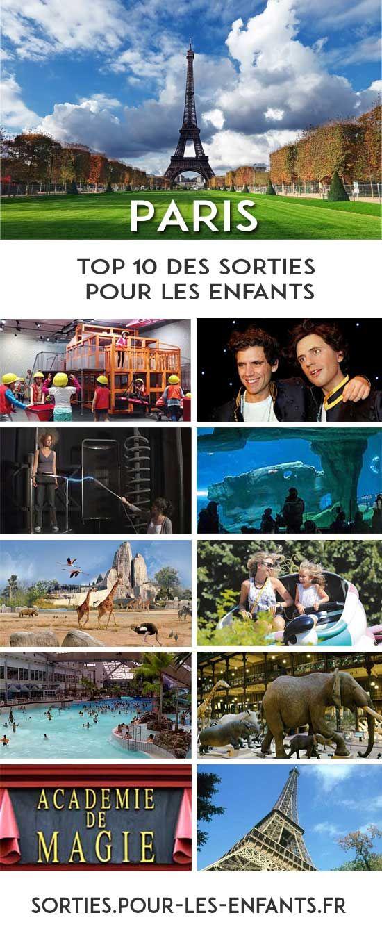Le Top 10  des Idées de Sorties pour les enfants à PARIS – GRATUIT !  #sorties…
