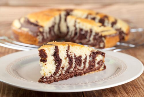 Gâteaux au chocolat et à la vanille